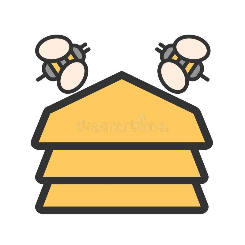 hive ilustração stock