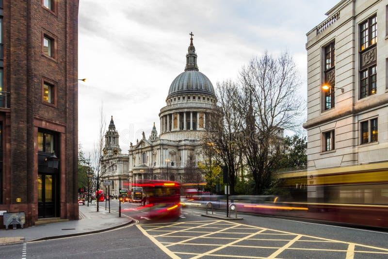 Hiver dans la ville de Londres photos stock