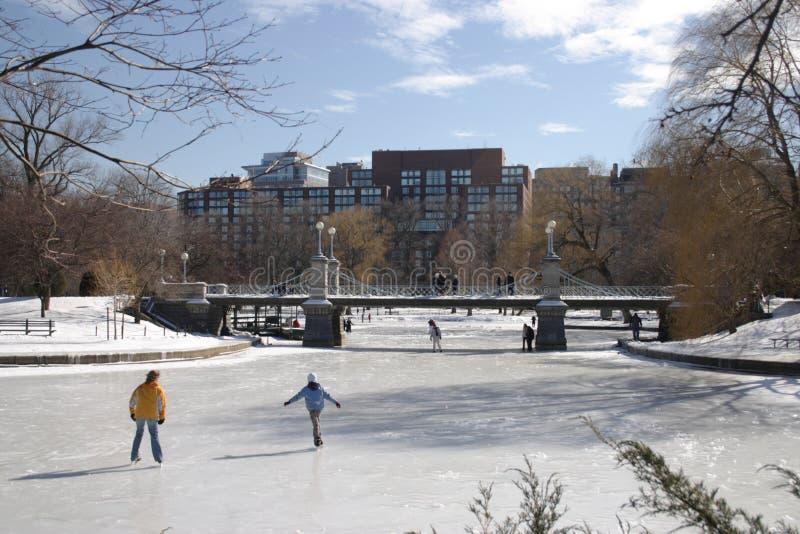 Hiver de Boston photo stock