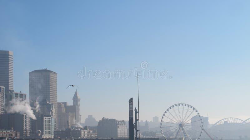 Hiver de Seattle photo stock