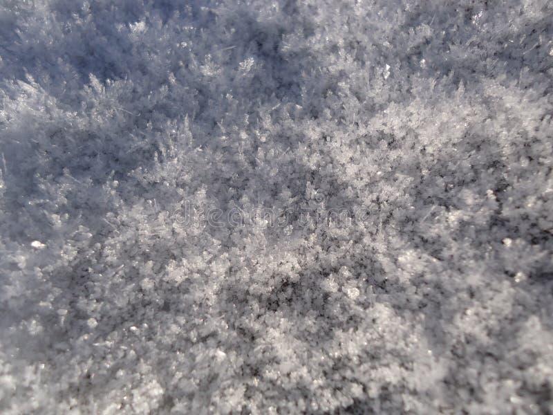 Hiver, gel et neige photos stock