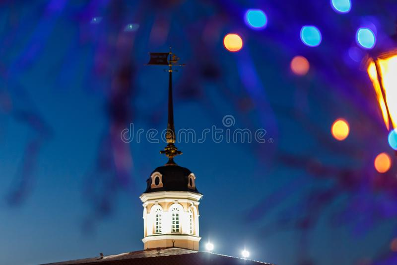 Hiver Kazan Kremlin image stock
