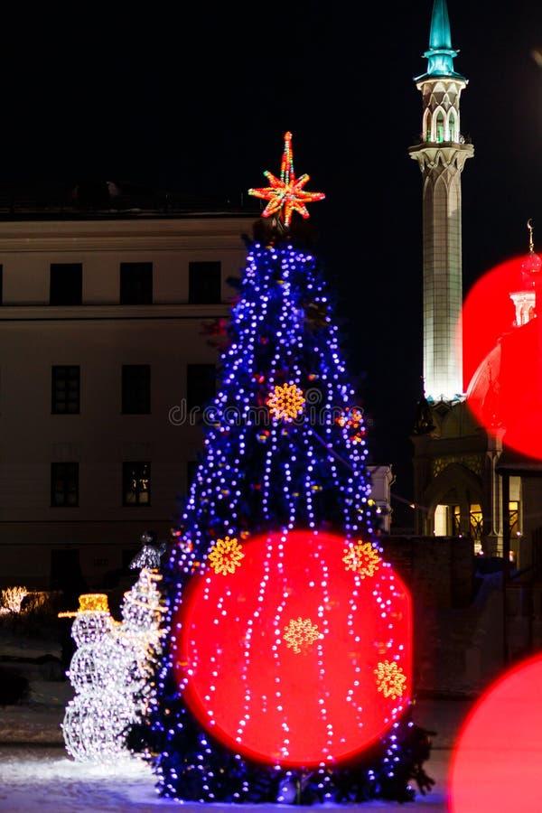 Hiver Kazan Kremlin images libres de droits