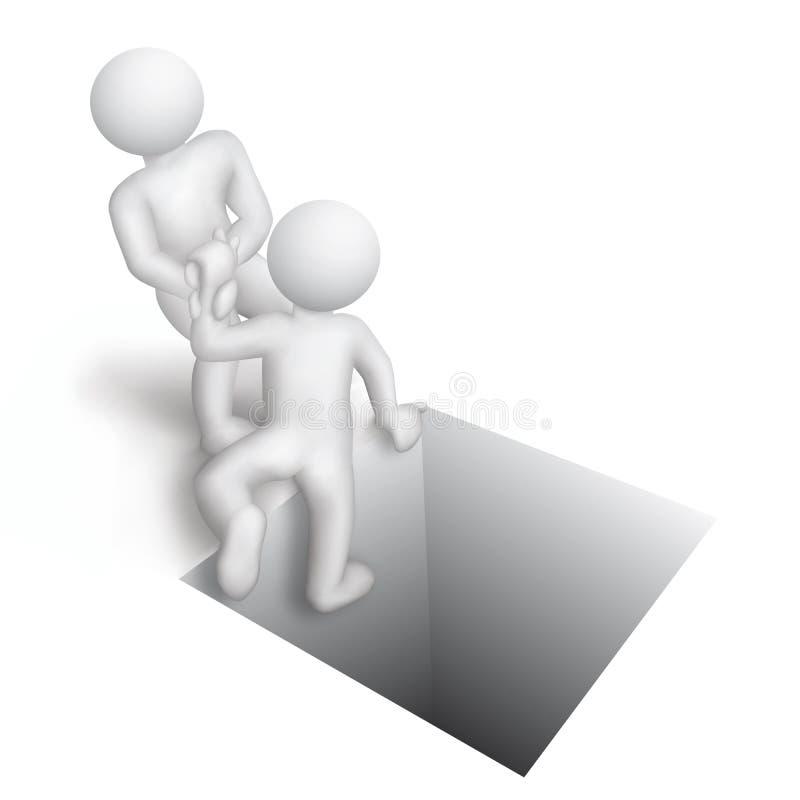 hjälp vektor illustrationer