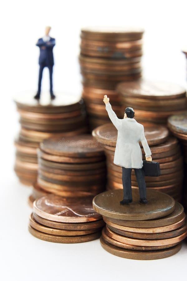 hjälp matters pengar royaltyfri bild
