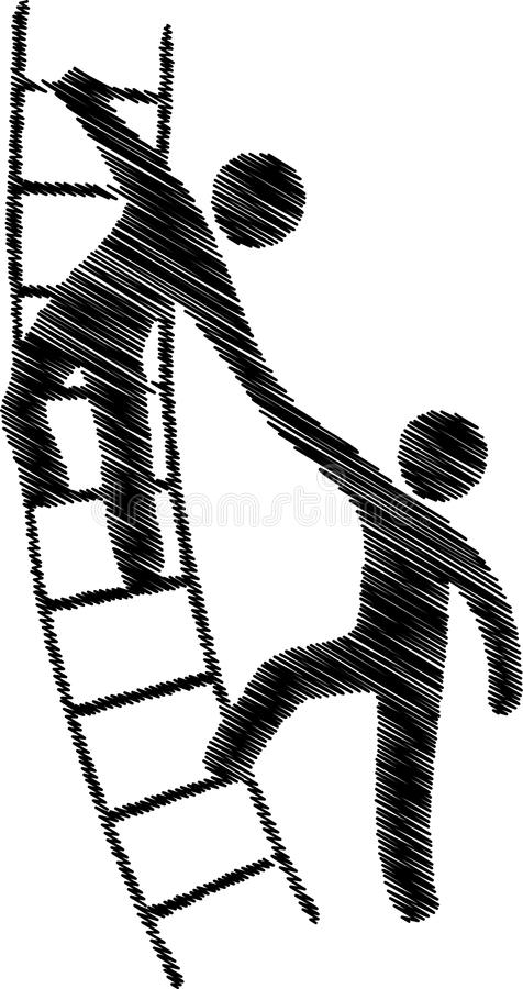 hjälpa för händer vektor illustrationer