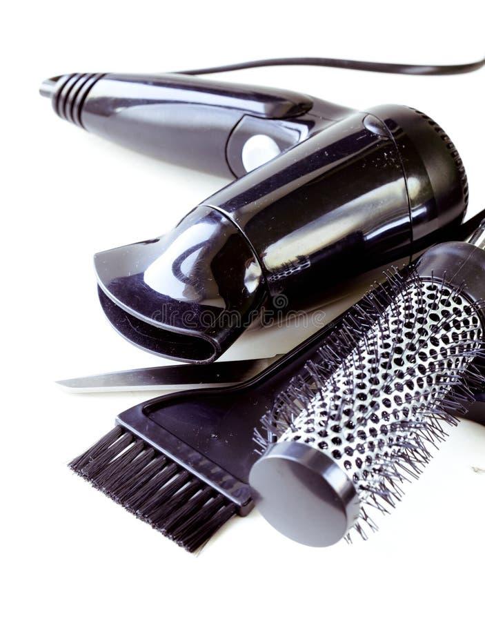 Hjälpmedel för frisör royaltyfri foto