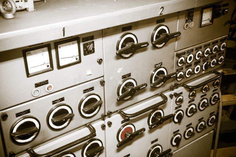 hjälpmedel för panel för administration för maskin för digital förlaga för kontrolldataapparat royaltyfri fotografi