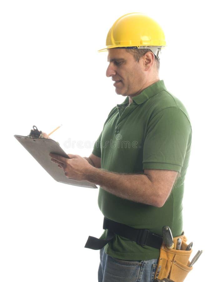 hjälpmedel för repairman för bälteleverantörhammare royaltyfria foton