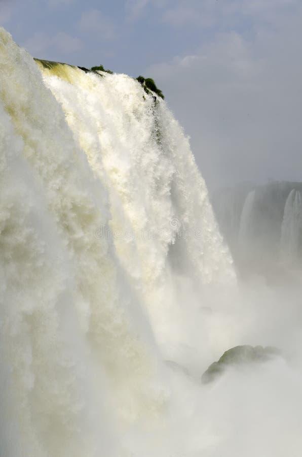 Hjälpmedel för vattenfallet Iguacuwalls royaltyfri foto