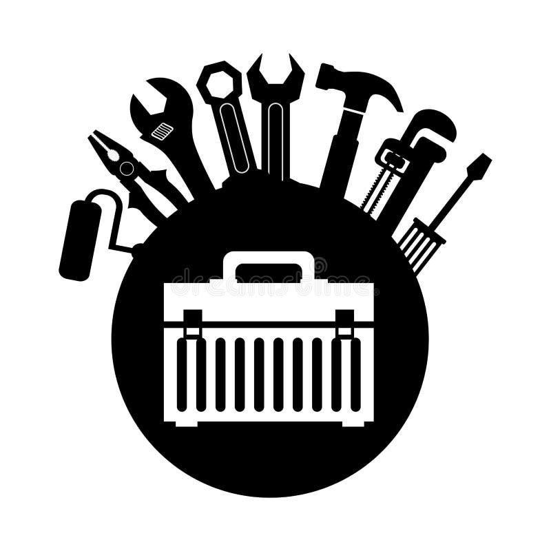 Hjälpmedeldesign royaltyfri illustrationer