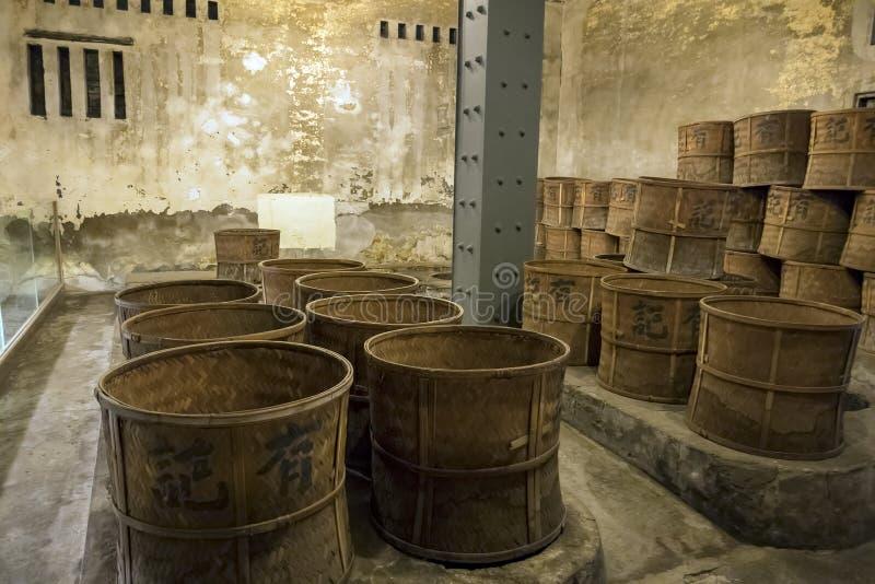 Hjälpmedlen av danandete av Wang Tea royaltyfri foto