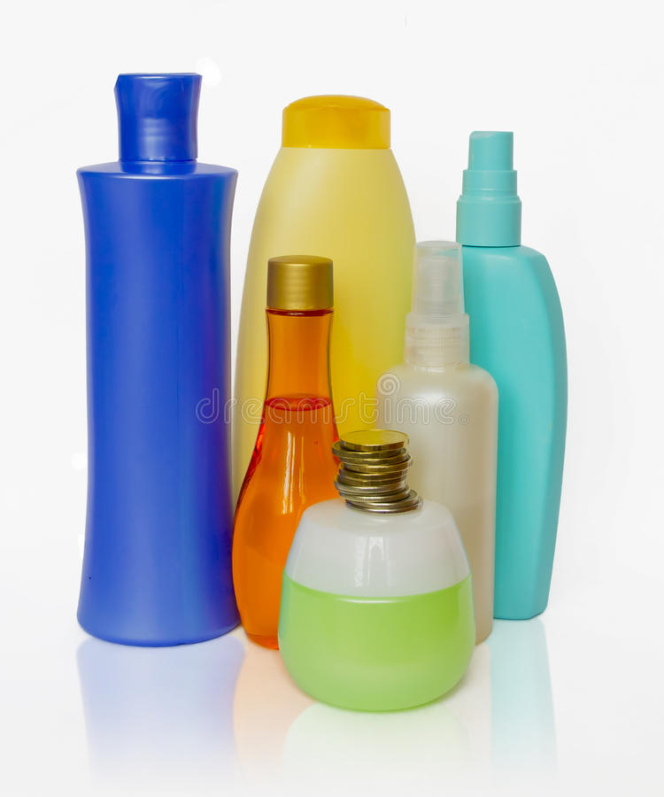 Hjälpmedlet för omsorg av förkroppsligar och hår arkivbild
