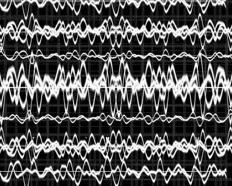 Hjärnan vinkar royaltyfri illustrationer