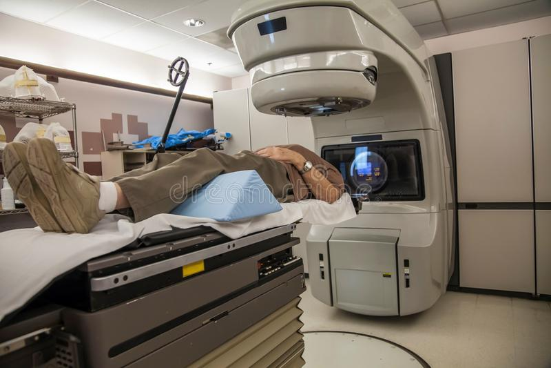 Hjärncancerbehandling arkivfoto