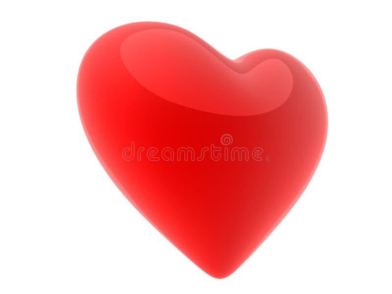 hjärta 3d stock illustrationer
