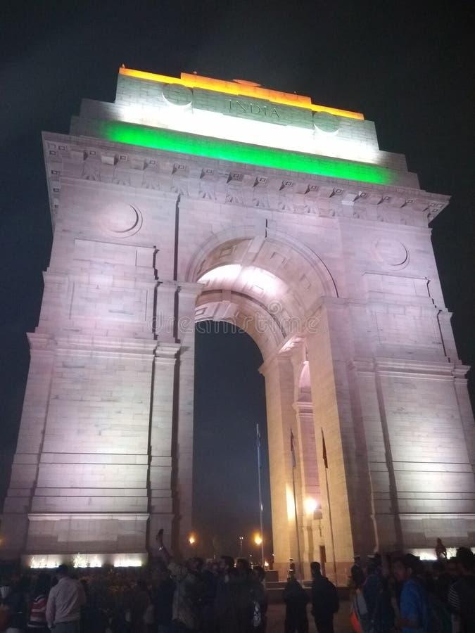 Hjärta av Delhi royaltyfri fotografi