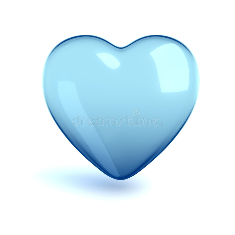 hjärta för kallt exponeringsglas stock illustrationer