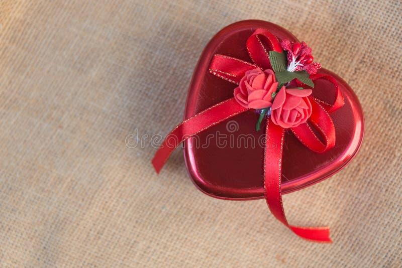 Hjärta för två rosa färg arkivbild
