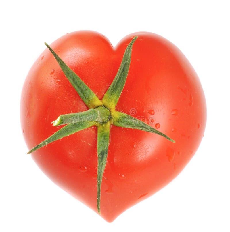 hjärta formad tomat royaltyfri bild