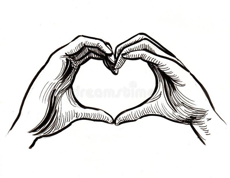 hjärta isolerad formtomatwhite vektor illustrationer