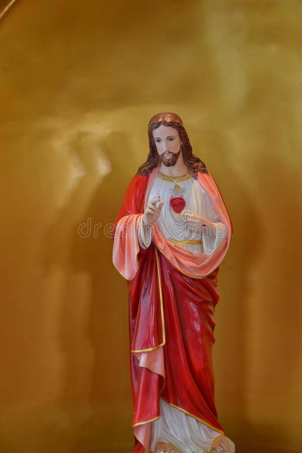 hjärta sakrala jesus arkivbilder