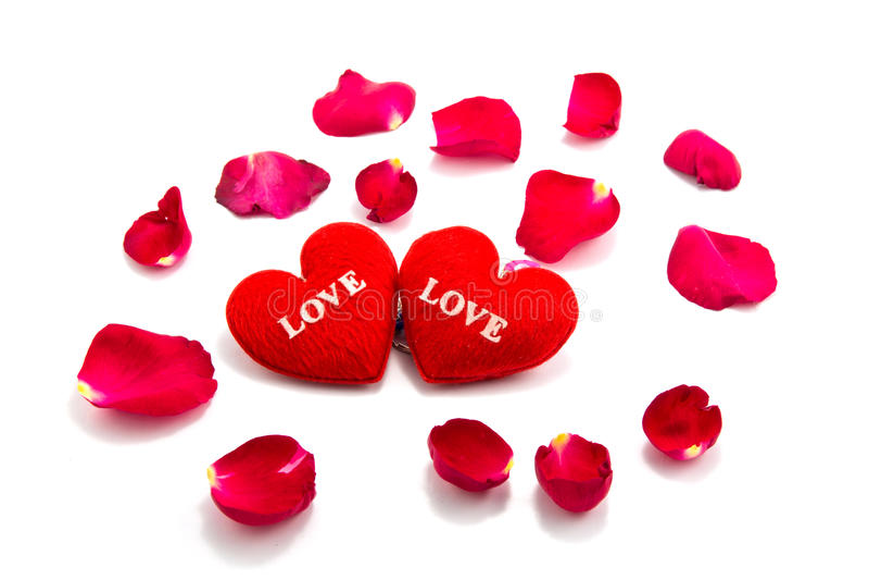 hjärta som ett symbol av förälskelse med steg, valentins dag royaltyfri fotografi