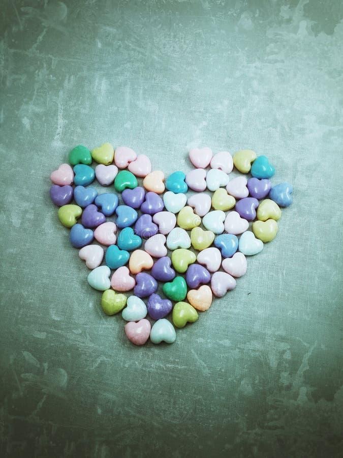 Hjärtafärger arkivfoton