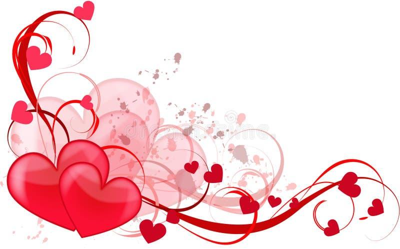 hjärtaförälskelse royaltyfri illustrationer