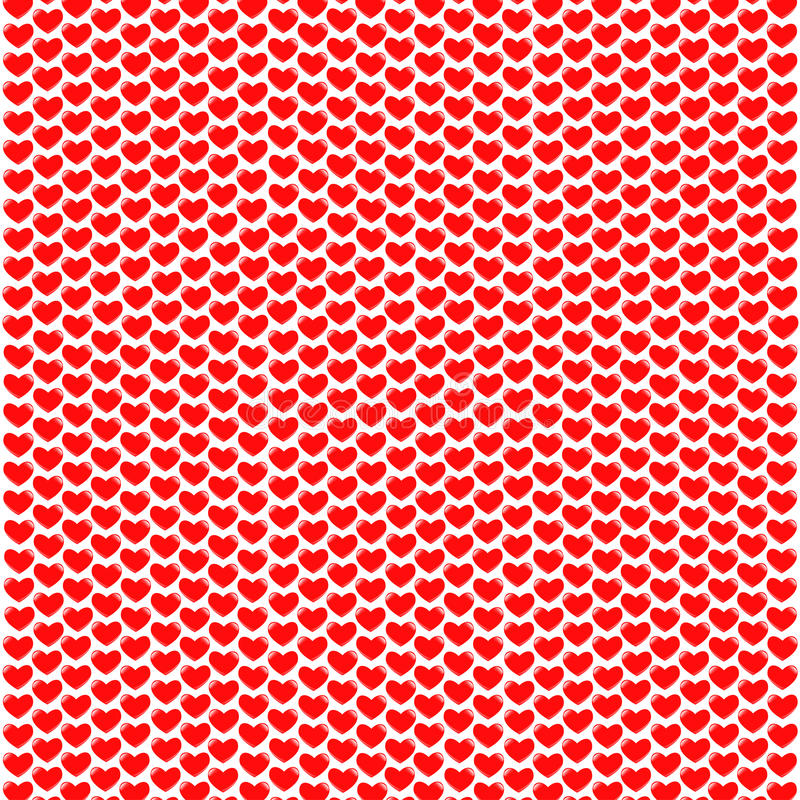 Hjärtaformbakgrund stock illustrationer