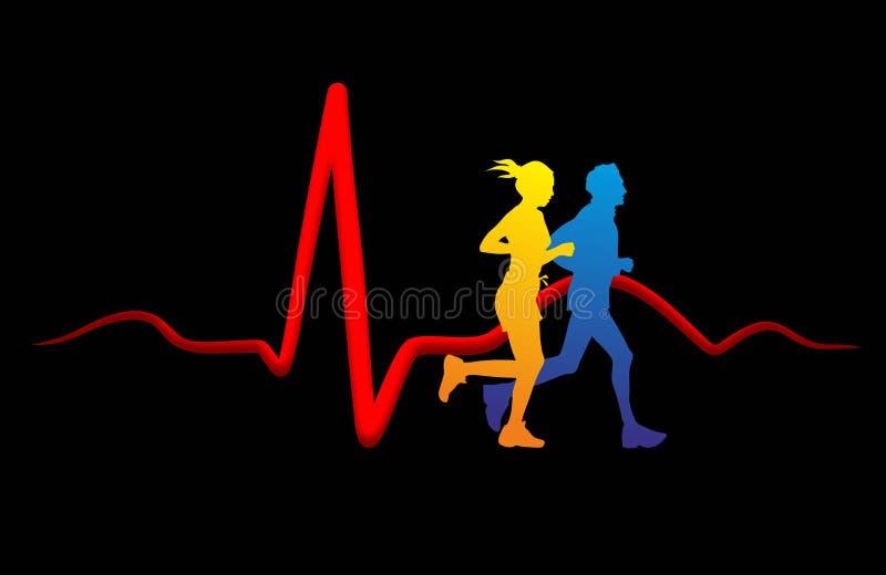 Hjärtamedicin stock illustrationer