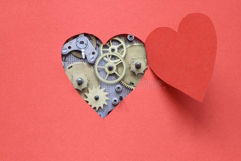 hjärtamekanism arkivfoto