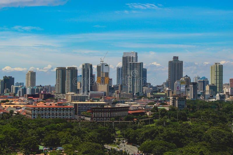 Hjärtan av Manila fotografering för bildbyråer