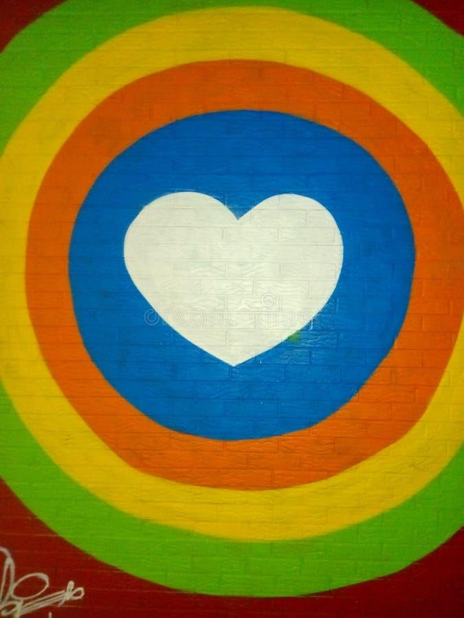 Hjärtan till lycka arkivfoto