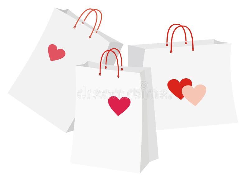 Hjärtapackar Fotografering för Bildbyråer