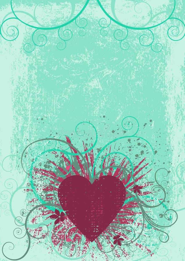 hjärtapink vektor illustrationer