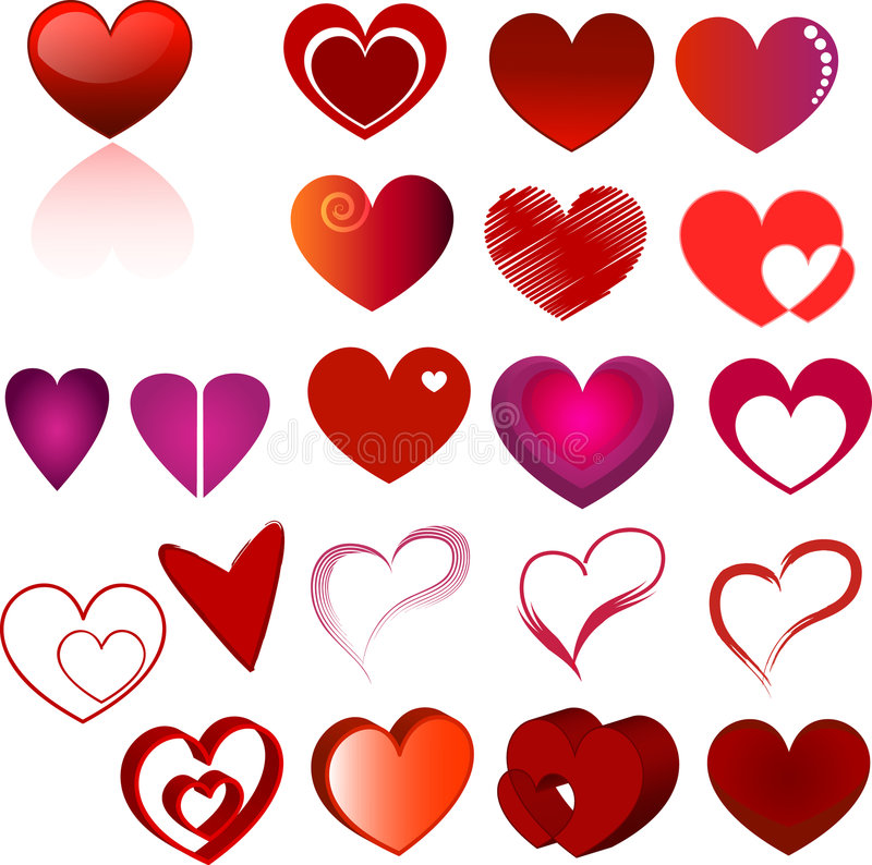 hjärtaset arkivfoton