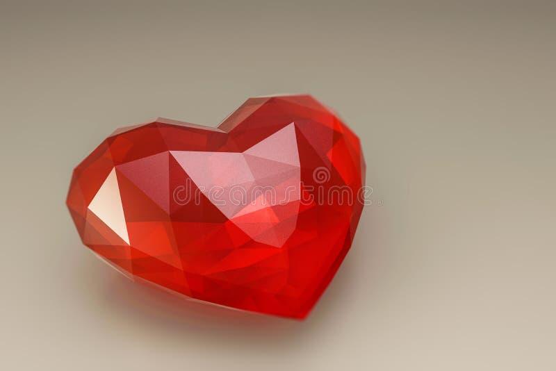 Hjärtasten stock illustrationer