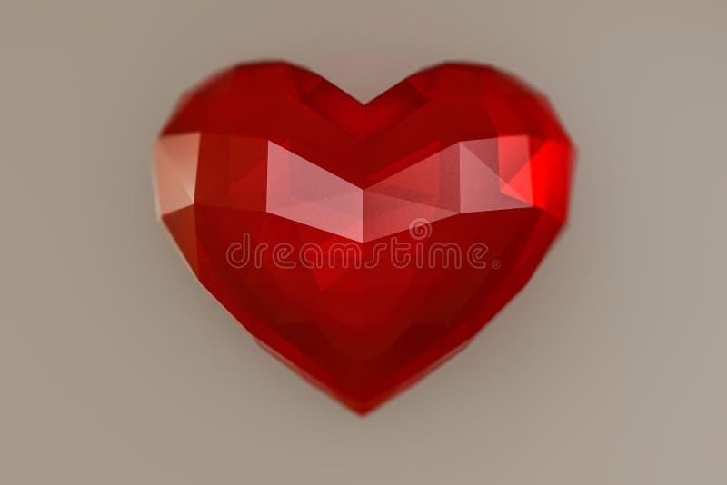 Hjärtasten royaltyfri illustrationer