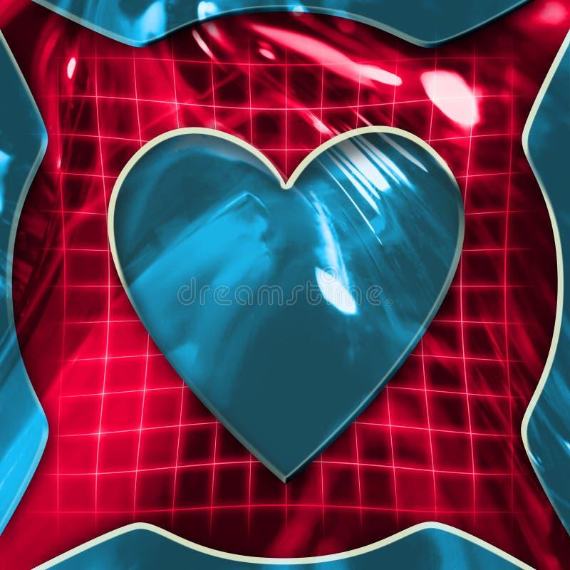 hjärtatecken stock illustrationer
