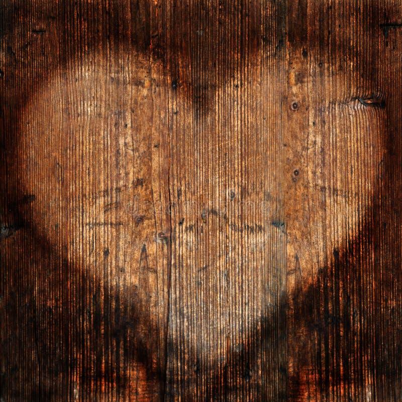 hjärtatimmervägg arkivbild