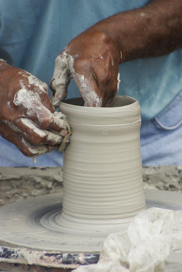hjul för 2 keramiker royaltyfri foto