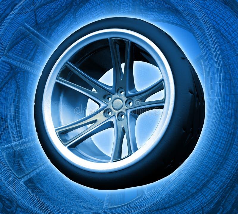 Download Hjul för kts n1 stock illustrationer. Illustration av dyrt - 510168