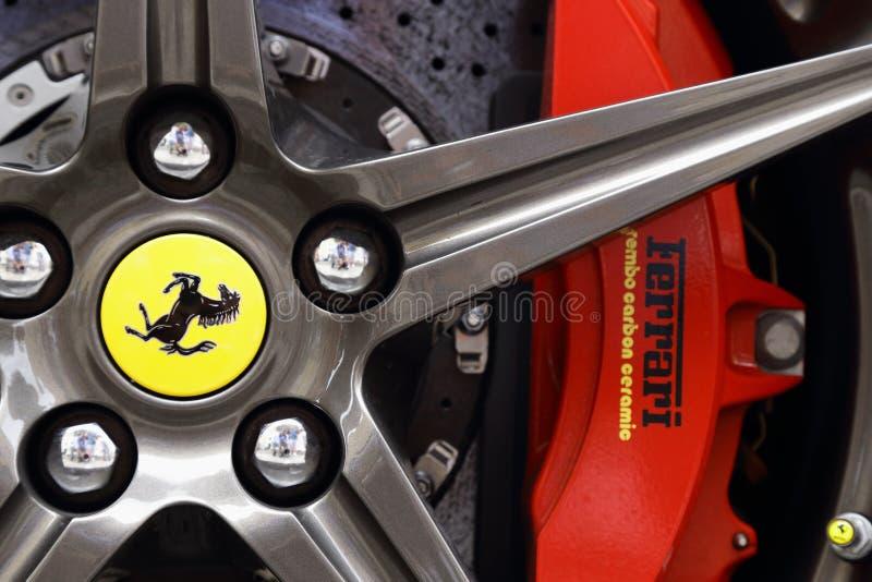Hjulsportbil fotografering för bildbyråer
