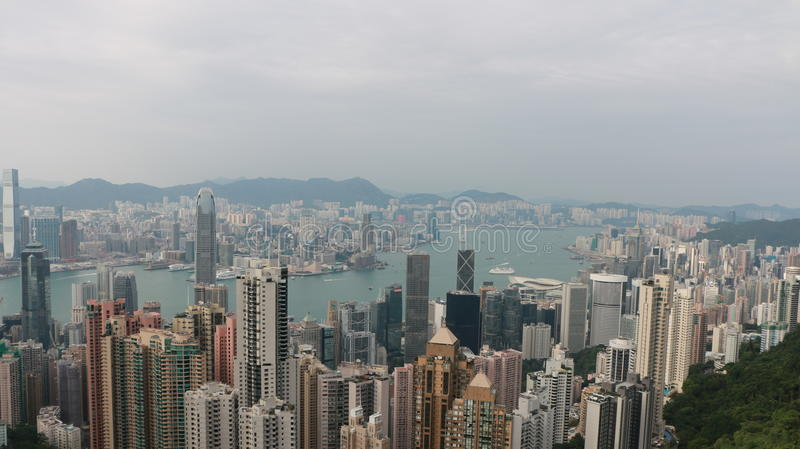 HK be on top royalty free stock images