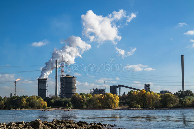 Download HKM Producing Steel Close To The River Rhine Stock Image - Image: 83706709
