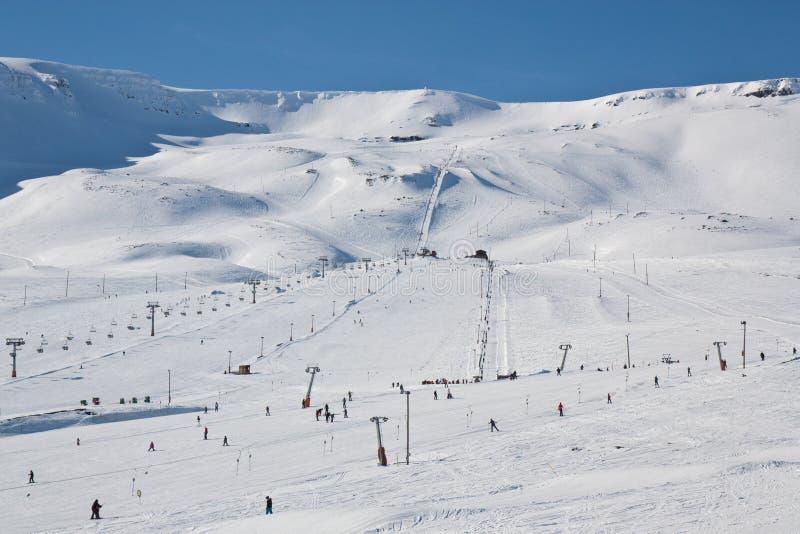 Hlidarfjall, Akureyri image libre de droits