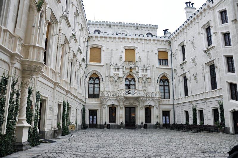 Hluboka castle-2 immagine stock libera da diritti