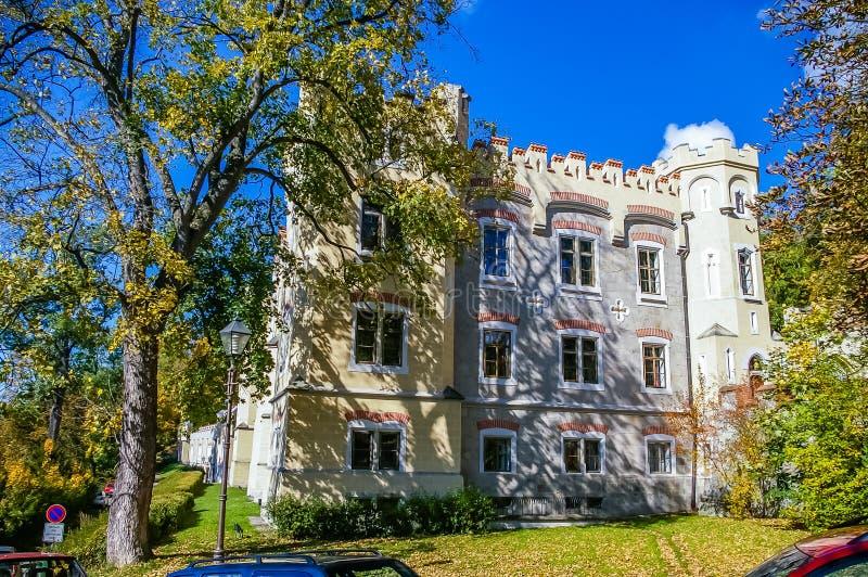Hluboka Castle in Czech Republic royalty free stock photo