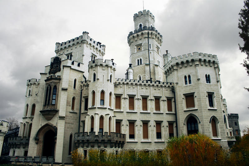 Hluboka nad Vltavou 免版税库存图片